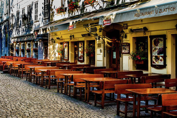 Photograph - European Cafe by M G Whittingham