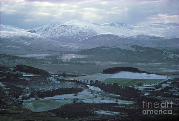 Photograph - Cairngorm Mountains In Early Winter by Phil Banks