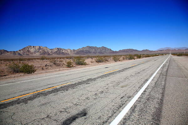 Photograph - California Route 66 by Frank Romeo