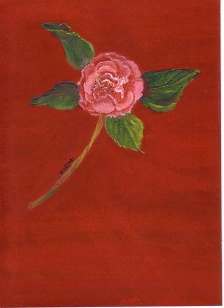 Painting - Camellia Solo by Regina Taormino