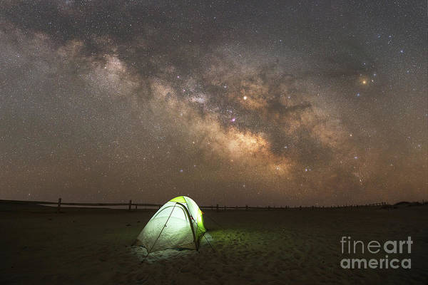 Photograph - Camping Under The Stars  by Michael Ver Sprill