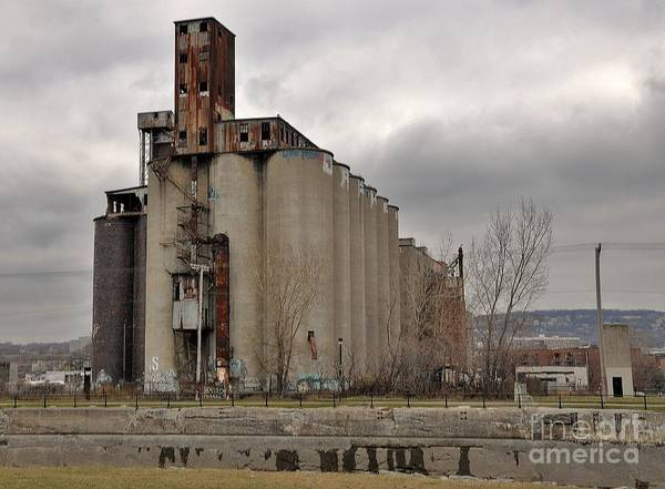Old Montreal Photograph - Canada Malting Plant by Reb Frost