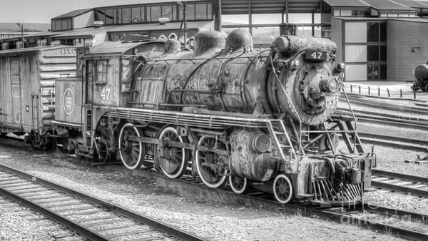 Canadian National Railway Photograph - Canadian National 47 by Anthony Sacco