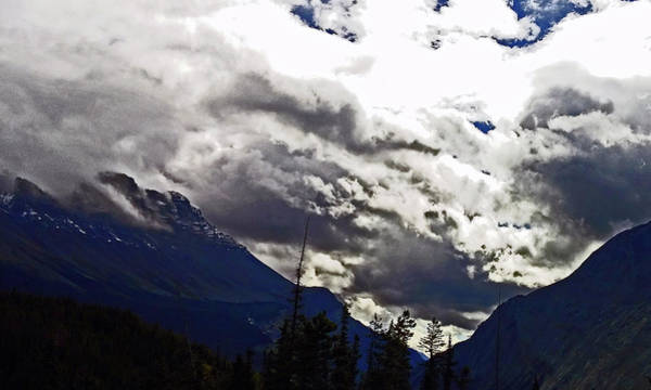 Wall Art - Photograph - Canadian Rockies - 2 by Janis Beauchamp