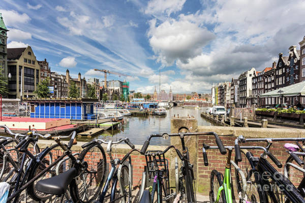 Photograph - Canal In Amsterdam by Didier Marti