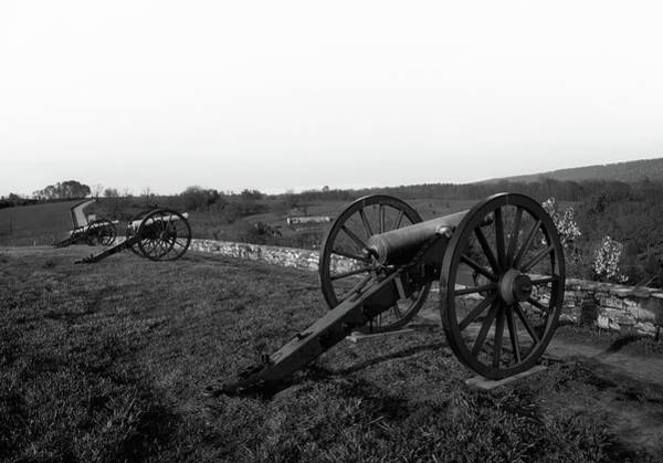 Battleground Photograph - Cannon At Antietam Battleground  by Mountain Dreams