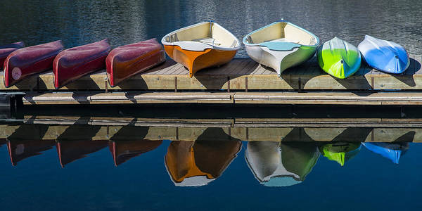 Photograph - Canoes And Kayaks by Gary Lengyel