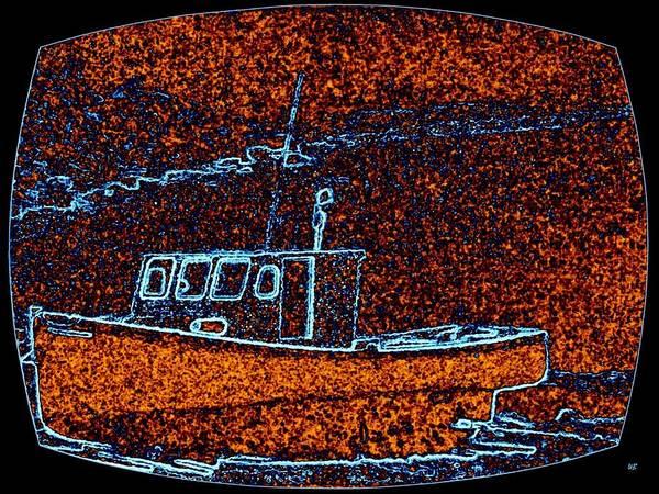 Appeal Digital Art - Cape Breton Fishing Boat by Will Borden