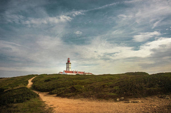 Wall Art - Photograph - Cape Espichel Lighthouse by Carlos Caetano