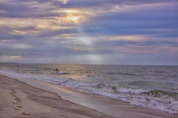 Photograph - Cape May Beach by Tom Singleton