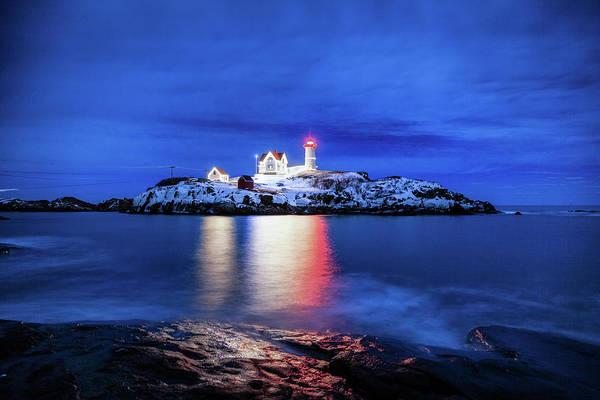 Photograph - Cape Neddick Lighthouse by Robert Clifford