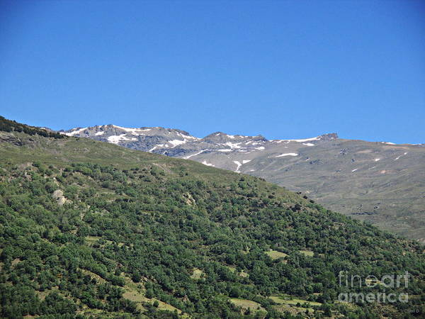 Photograph - Sierra Nevada From Capileira  by Chani Demuijlder