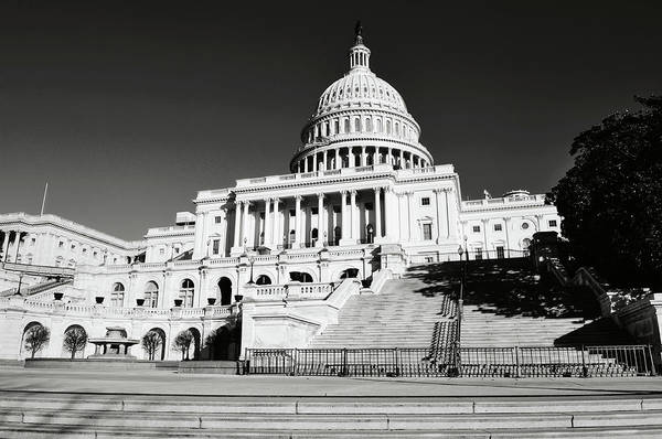 Photograph - Capital Hill Building In Washington Dc by Brandon Bourdages