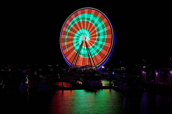 Photograph - Capital Wheel by Bill Dodsworth