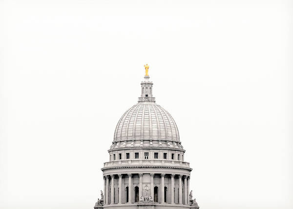 Photograph - Capitol Cloud by Todd Klassy