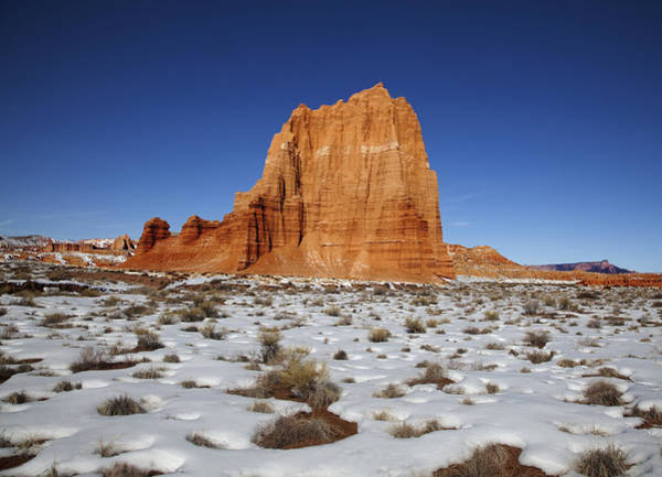 Photograph - Capitol Reef National Park Temple Of The Moon by Mark Smith