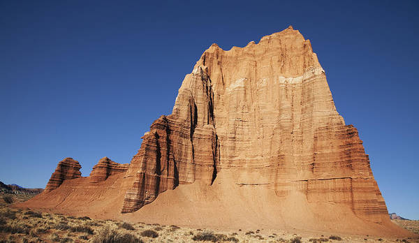Capitol Reef National Park Temple Of The Sun Art Print by Mark Smith