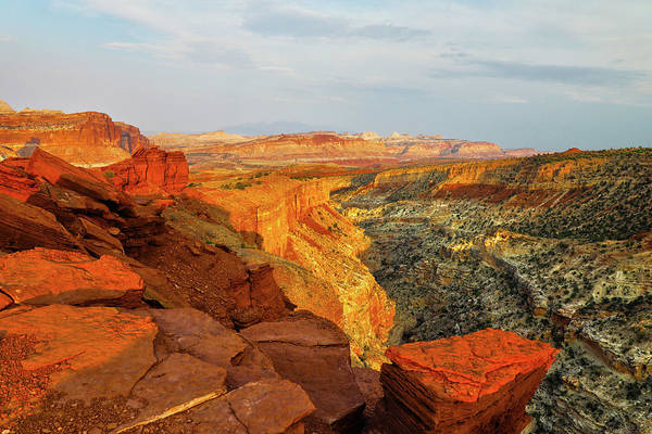 Wall Art - Photograph - Capitol Reef Sunset by Mitch Cat