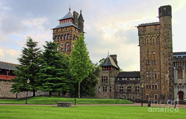 Wall Art - Photograph - Cardiff Castle 8403 by Jack Schultz