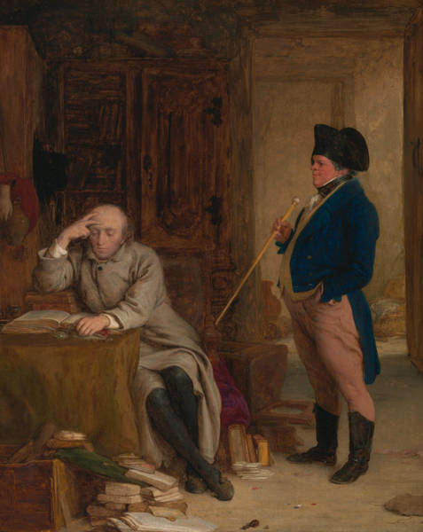 Painting - Carghill And Touchwood by William Mulready