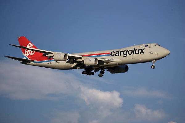 747 Wall Art - Photograph - Cargolux Boeing 747-8r7 4 by Smart Aviation