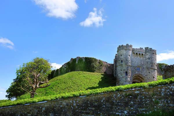Bailey Photograph - Carisbrooke Castle - Isle Of Wight by Joana Kruse