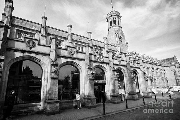 Wall Art - Photograph - Carlisle Railway Train Station Carlisle Cumbria England Uk by Joe Fox