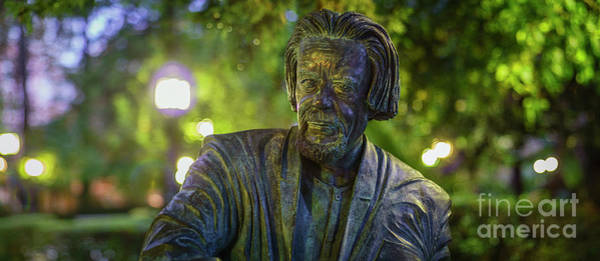 Photograph - Carlos Edmundo De Ory Monument Cadiz Spain by Pablo Avanzini