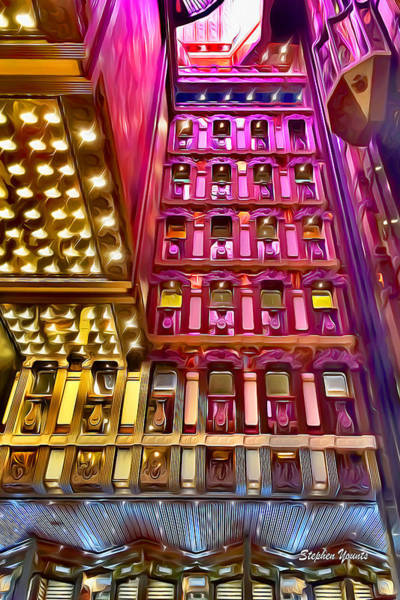 Wall Art - Digital Art - Carnival Pride Atrium by Stephen Younts
