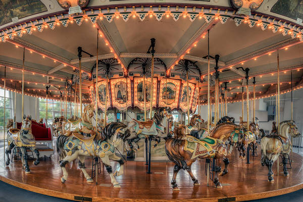 Photograph - Carousel by Jerry Gammon