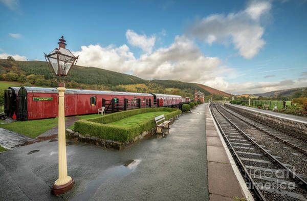 Wall Art - Photograph - Carrog Railway Station by Adrian Evans