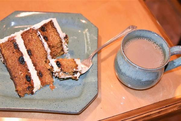 Photograph - Carrot Cake And Coffee by Kim Bemis