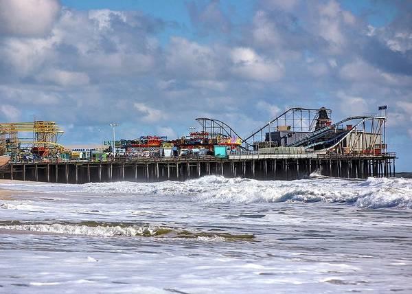 Wall Art - Photograph - Casino Pier, Seaside Heights Nj by Bob Cuthbert