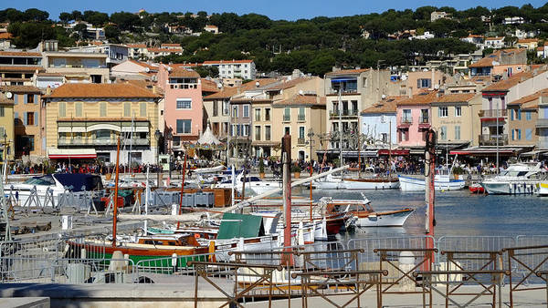 Photograph - Cassis Harbor by August Timmermans