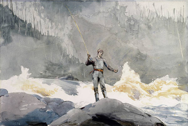 Painting - Casting by Winslow Homer