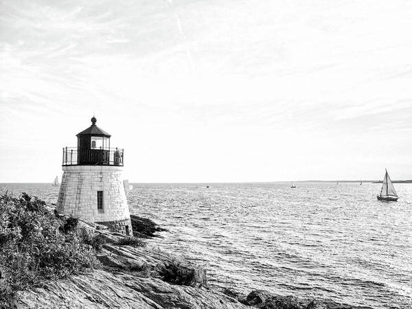 Photograph - Castle Hill Lighthouse by Marianne Campolongo