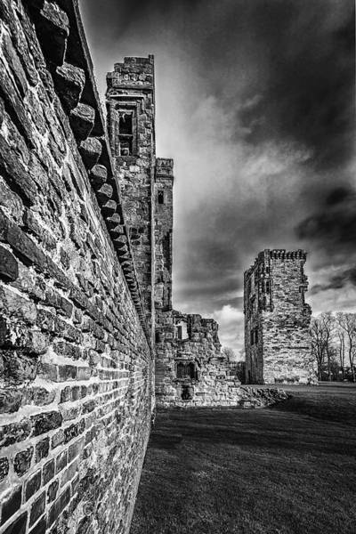Ivanhoe Photograph - Castle Wall by Nick Bywater