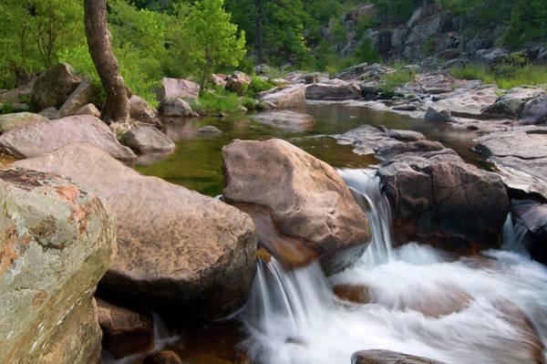 Photograph - Castor River Shut-ins by Steve Stuller
