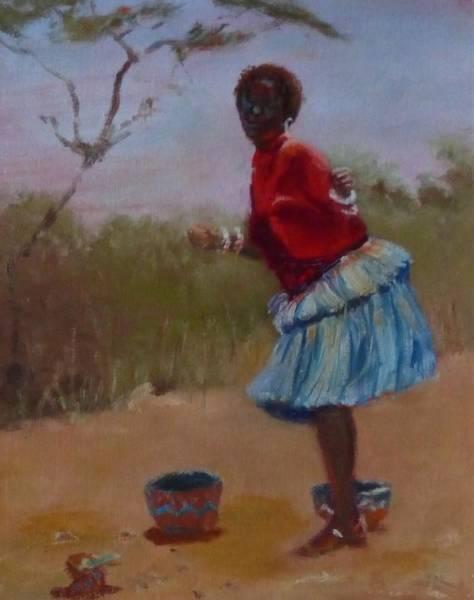 Painting - Casual Dancing  by Irena Jablonski