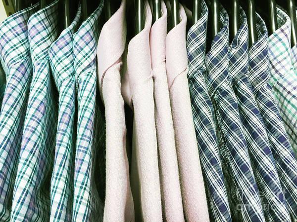 Mens Clothing Wall Art - Photograph - Casual Men's Shirts by Tom Gowanlock