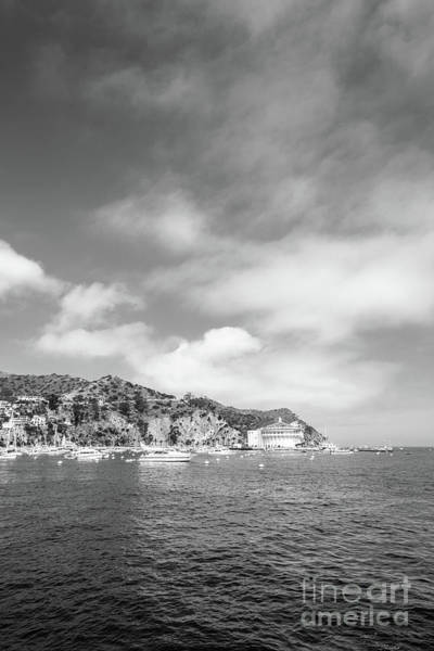 Avalon Wall Art - Photograph - Catalina Island Black And White Photo by Paul Velgos