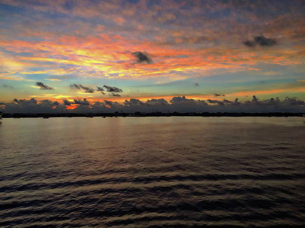 Photograph - Cayman Islands Sunrise by Anthony Dezenzio