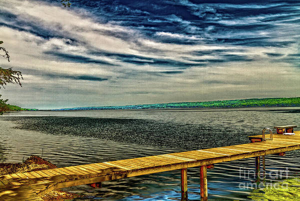 Photograph - Cayuga Lake by William Norton