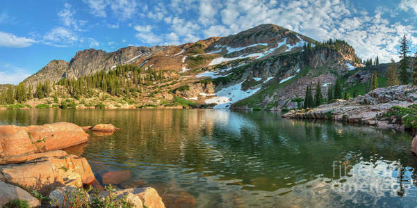 Photograph - Cecret Lake by Spencer Baugh