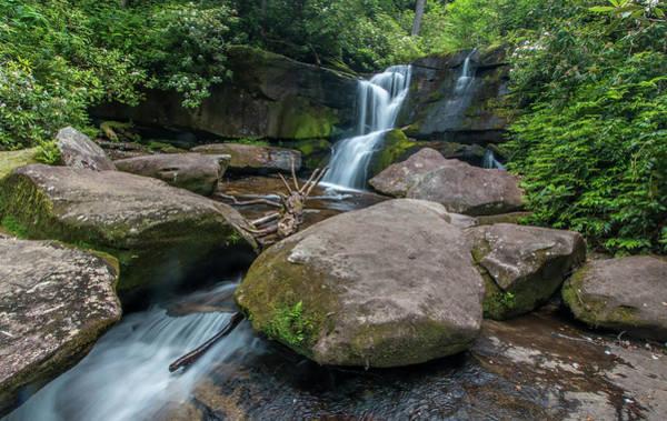 Photograph - Cedar Rock Falls by Chris Berrier