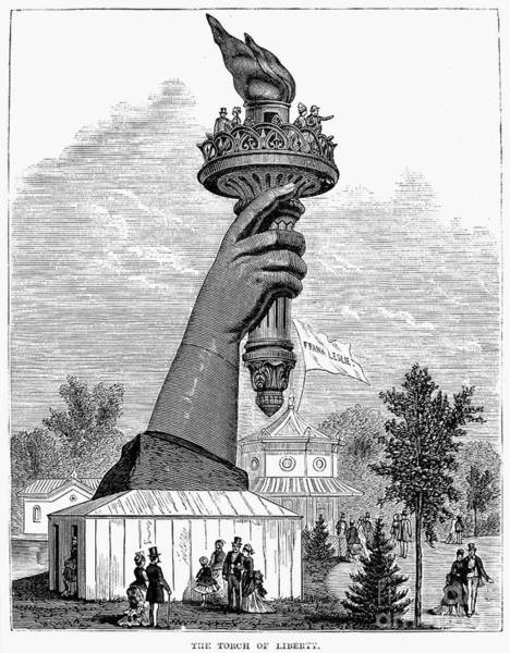 Photograph - Centennial Fair, 1876 by Granger
