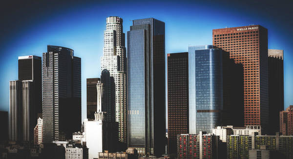 Wall Art - Photograph - Central Los Angeles Skyline by Library Of Congress