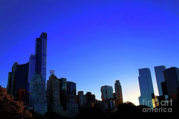 Wall Art - Photograph - Central Park View 4 by Gregory E Dean