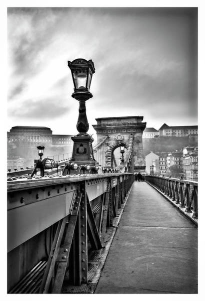 Photograph - Chain Bridge - Budapest. by Usha Peddamatham