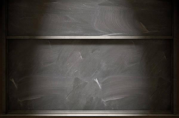 Wall Art - Digital Art - Chalkboard Closeup by Allan Swart